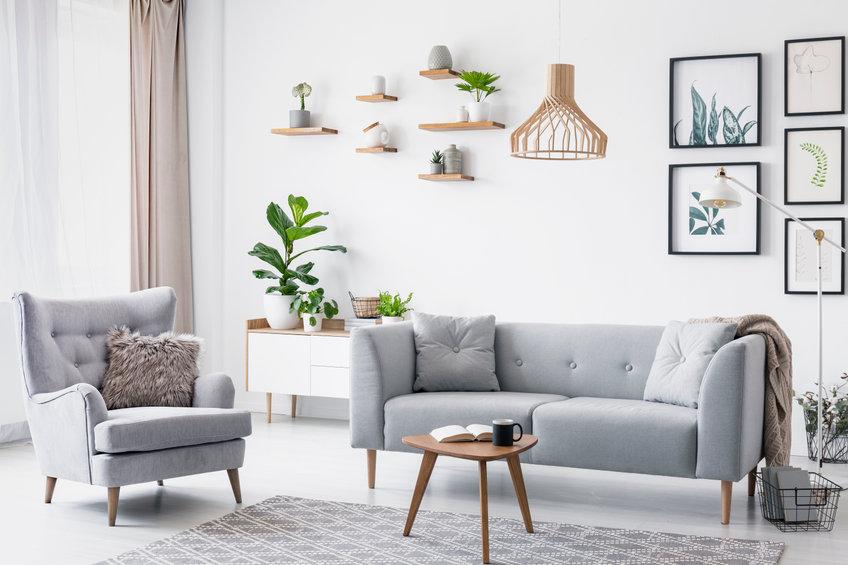Meubler le salon scandinave avec des mobiliers minimalistes